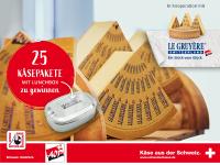 Mit Le Gruyère AOP Frühlings-Genusspakete gewinnen