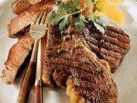 T-Bone-Steaks vom Grill Rezept