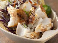 Taco mit Fisch und Krautsalat Rezept