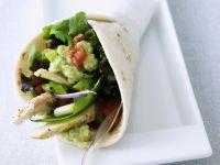 Taco mit Hähnchenbrust und Gemüse gefüllt Rezept