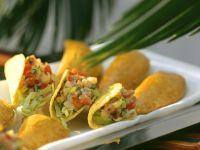 Taco Shells mit Gemüsereisfüllung Rezept