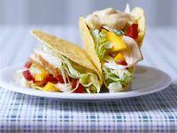 Taco Shells mit Pute Rezept