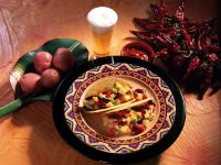 Tacos mit Bohnen-Kartoffel-Salat