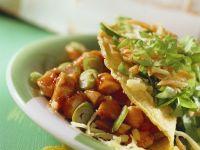 Tacos mit Chili-Hähnchen gefüllt Rezept