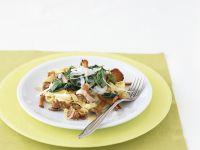 Tagliatelle mit Spinat und Pfifferlingen Rezept