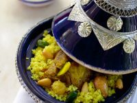 Tajine mit Lamm und Couscous Rezept