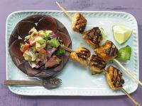 Tamarinden-Hähnchen-Spieße Rezept