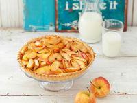 Tarte mit Apfelspalten Rezept
