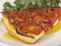 Tarte mit Tomaten und Ricotta