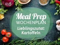 Meal-Prep-Wochenplan: Kartoffeln