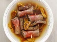 Tellersülze mit Rind und Trocken-Feigen Rezept