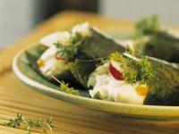 Temaki mit frischen Kräutern Rezept
