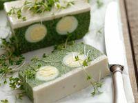 Terrine mit Spinat und Ei Rezept