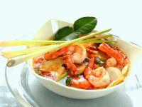 Thai-Garnelensuppe Rezept