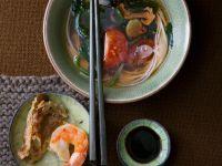 Thailändische Garnelensuppe Rezept