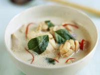 Thailändische Hühnchen-Kokos-Suppe Rezept