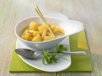 Thailändisches Kartoffelcurry Rezept