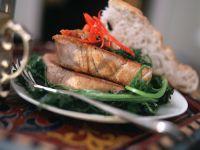 Thunfisch mit Paprikasauce Rezept