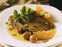 Thunfisch mit Zitronensauce Rezept