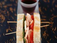 Thunfisch-Paprika-Sandwich Rezept