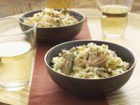 Thunfisch-Risotto mit Trauben Rezept
