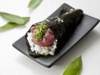 Thunfisch-Sushi mit Negi Rezept