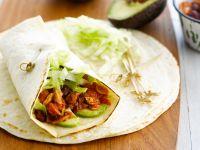 Thunfisch-Wraps mit Avocado und Bohnen Rezept