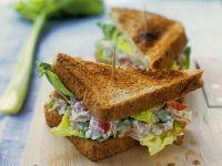 Thunfischsalat-Sandwich Rezept