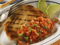 Thunfischsteak mit Tomatensalsa Rezept