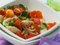 Tintenfischsalat mit Tomaten Rezept