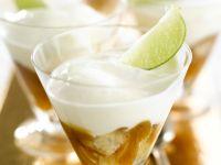 Tiramisu mit Äpfeln und Rum Rezept