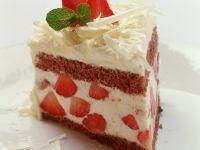 Tiramisu-Torte mit Erdbeeren Rezept