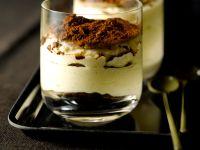 Tiramisu und Crepes im Glas Rezept