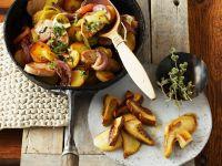 Tiroler Gröstl mit Pilzen Rezept