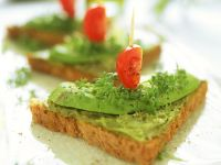 Toast mit Avocadocreme Rezept