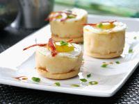 Toasties mit Kartoffelcreme und Wurst Rezept