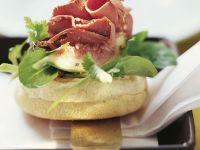 Toasties mit Salat und Ente Rezept