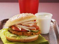 Tofu-Burger mit Sojasprossen Rezept