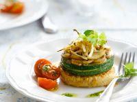Tofu-Frikadelle mit Zucchini Rezept