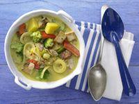 Tofu-Gemüse-Curry Rezept
