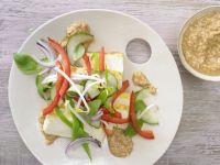 Tofu-Gurken-Salat Rezept