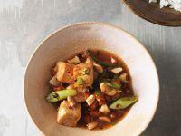 Tofu mit Gemüse aus dem Wok Rezept