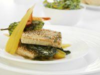Tofu mit Paprika und Korianderöl