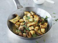 Tofu-Pilz-Pfanne Rezept