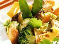Tofupfanne mit Gemüse Rezept