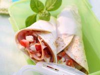 Tomate-Mozzarella-Wrap Rezept