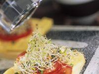 Tomate und Mozzarella auf Toast Rezept