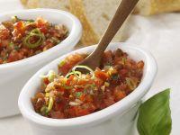 Tomaten-Basilikum-Paste Rezept