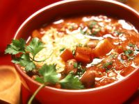 Tomaten-Bohnensuppe Rezept