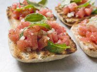 Tomaten-Bruschetta Rezept